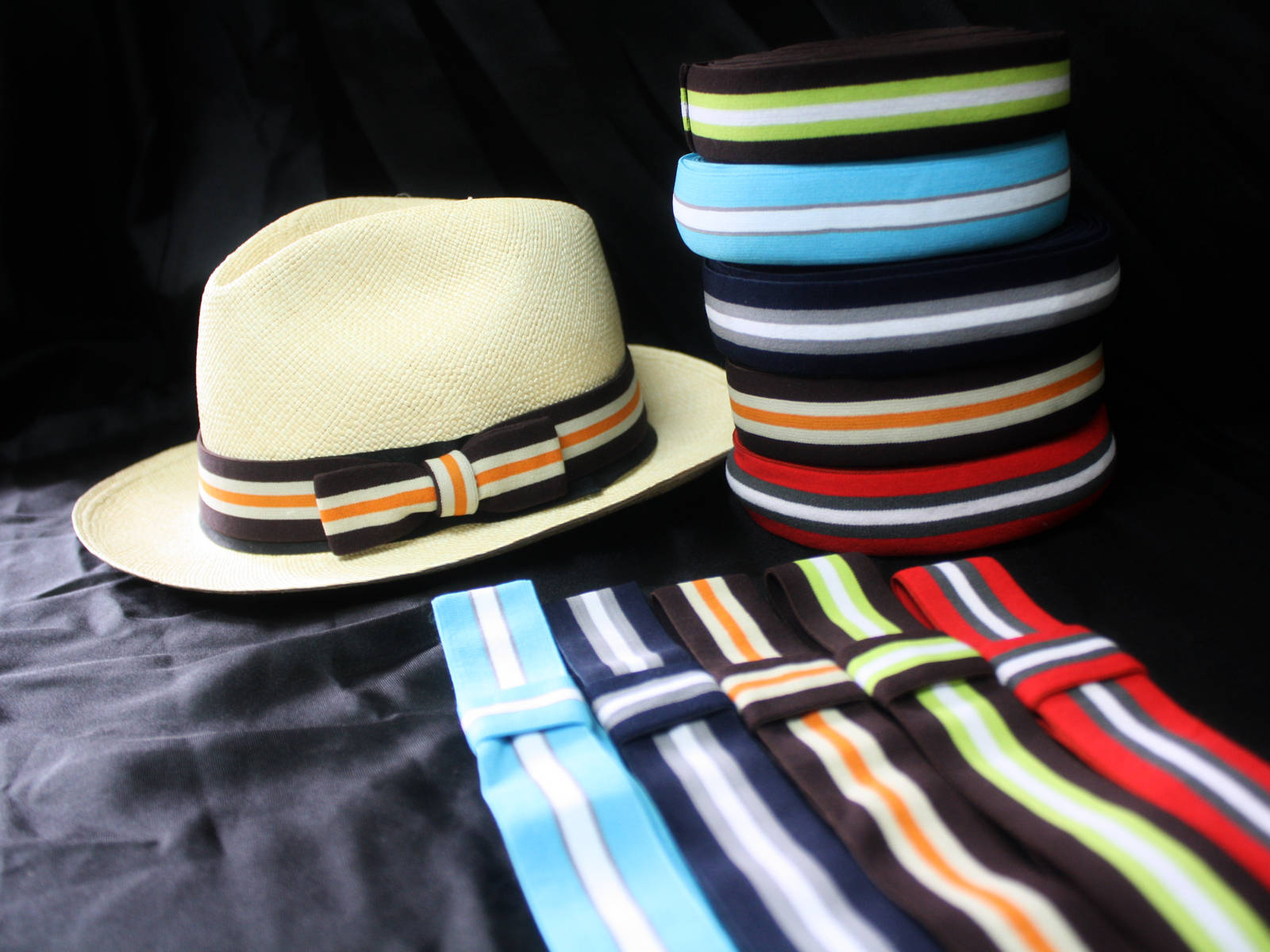 Panama Hats Bands